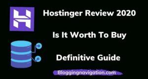 Hostinger Review 2020