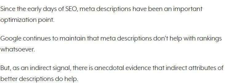 SEJ on meta description