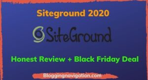 Siteground Review 2020