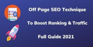Off Page SEO Technique