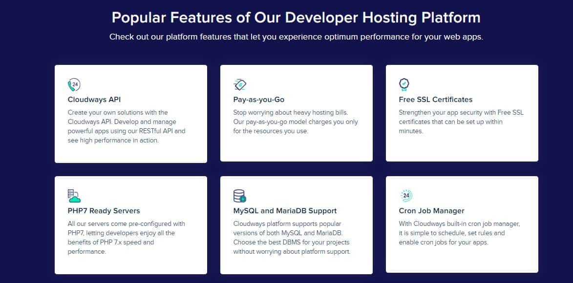 Cloudways Features for developers