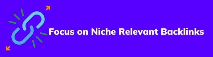 Niche Relevant Backlink