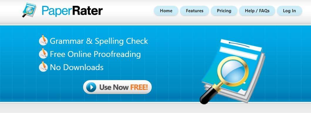 PaperRater Plagiarism Tool