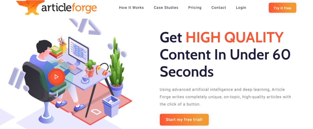 Article Forge Software