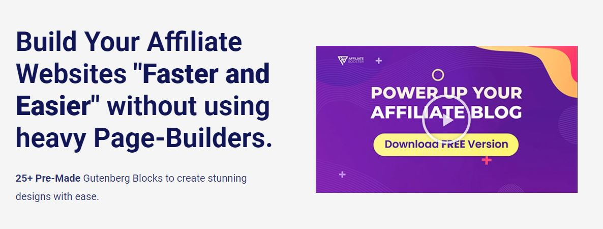 Affiliate booster theme